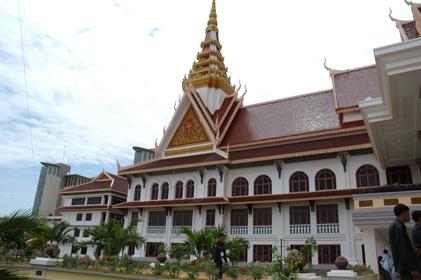柬埔寨国会大厦