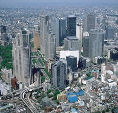新宿新城中心地带